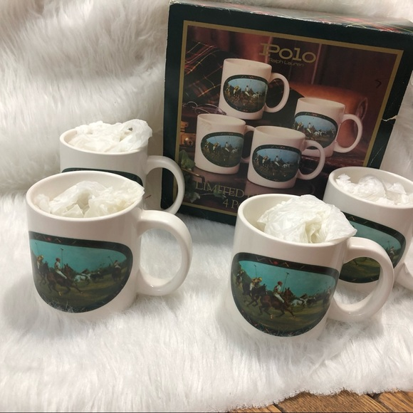 Polo by Ralph Lauren Other - Polo Ralph Lauren Vintage Limited Edition Mugs